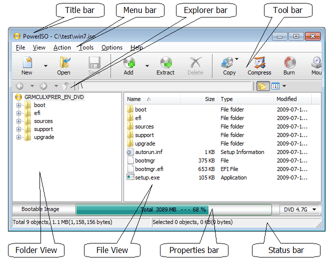 5 Eszközök BIN fájlok konvertálására ISO képekre